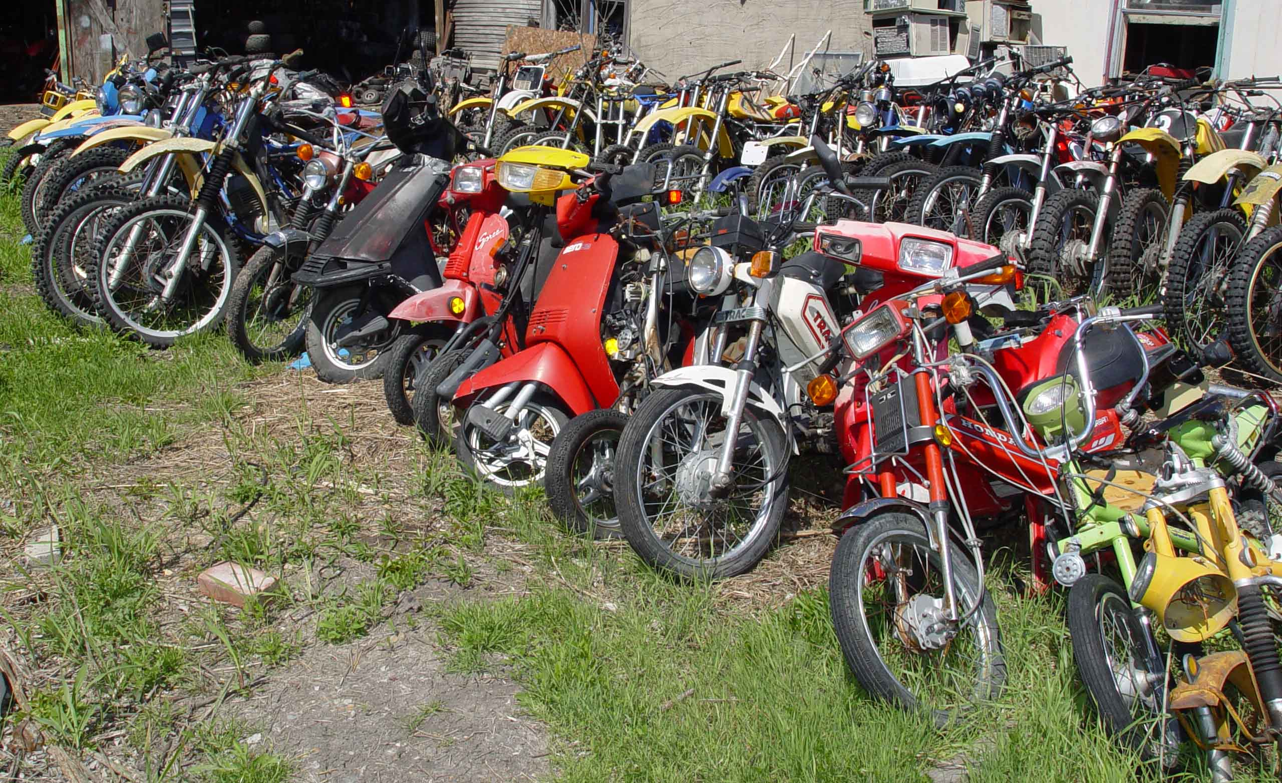 Motorcycle salvage yards for Motor cycle junk yard